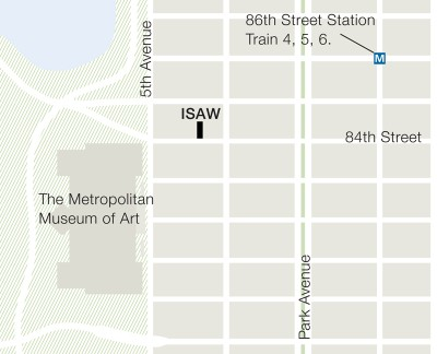 ISAW Location Map