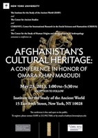 Afghanistan's Cultural Heritage: A Conference in Honor of Omara Khan Masoudi