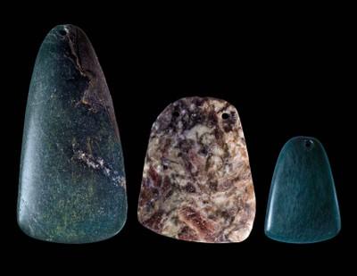 Three Ax Amulets