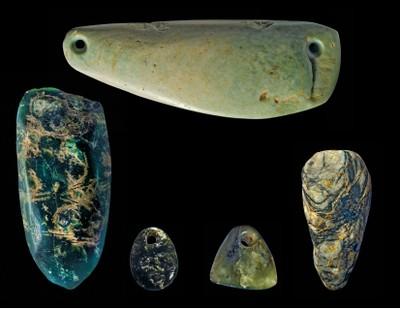 Five Ax Amulets