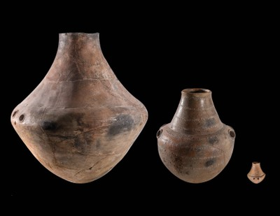 Three Amphorae
