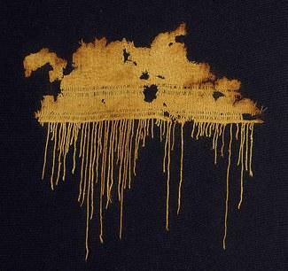 Fringed Textile Fragment