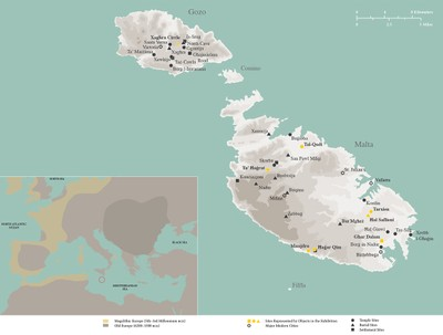 Malta Map — Institute for the Study of the Ancient World