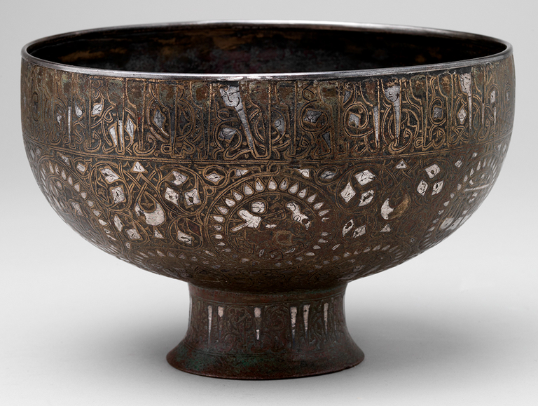 Footed Bowl with Zodiac Signs