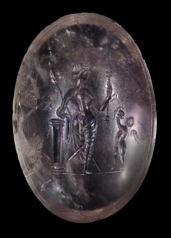 Gem Engraved with Aphrodite (Venus)