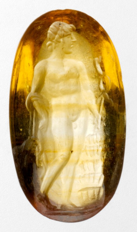 Gem Engraved with Hermes (Mercury)