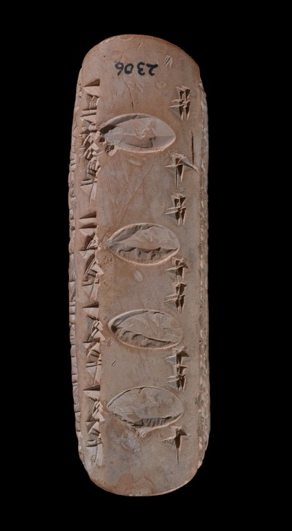 Late Babylonian Contract Tablet with Astrological Ring-Seal Impression
