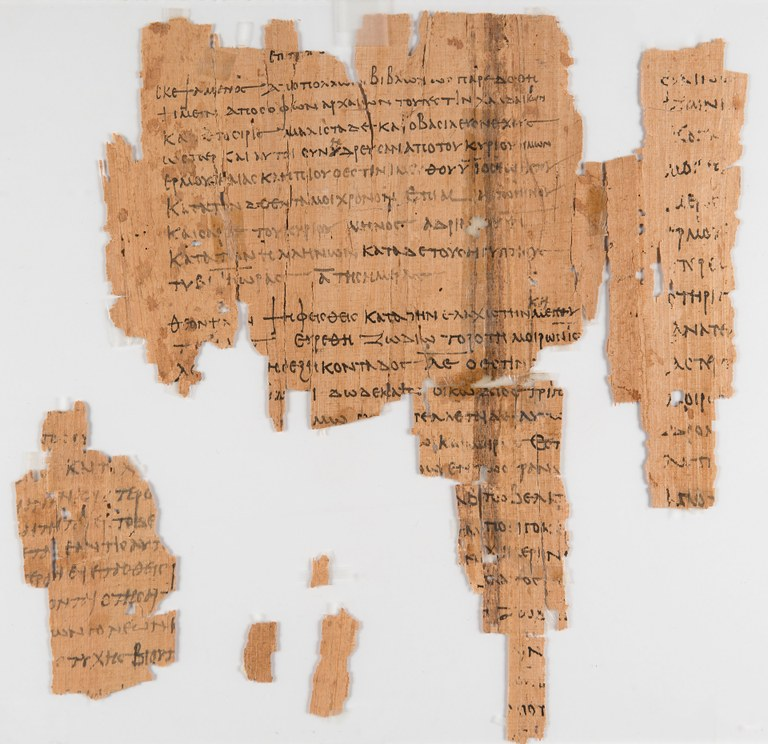 Papyrus with Greek Horoscope of Anubion Son of Psansnos