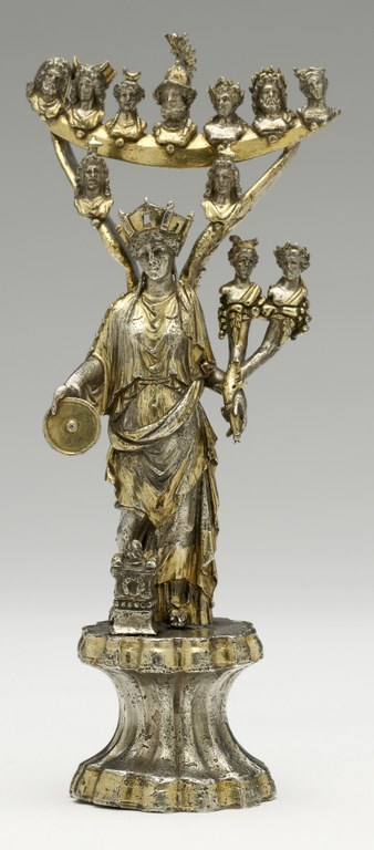 Statuette of Tutela with Planetary Divinities