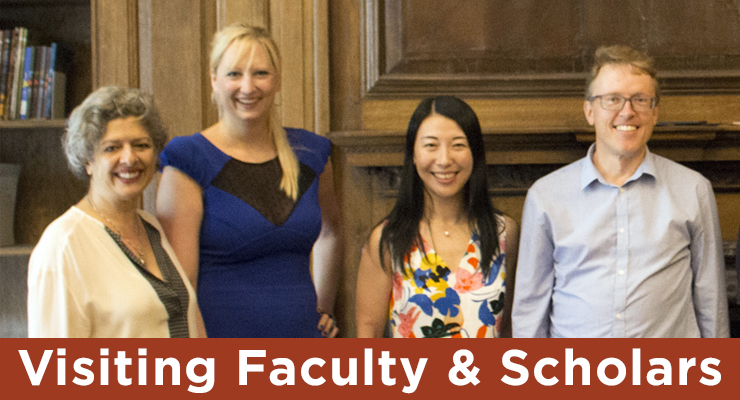 Visiting Faculty & Scholars