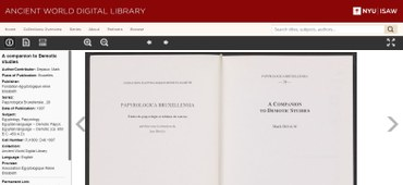 Association égyptologique Reine Elisabeth publications now available in AWDL