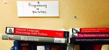 Digital Philology, Parrots, and Cake: Two Years at the ISAW Library