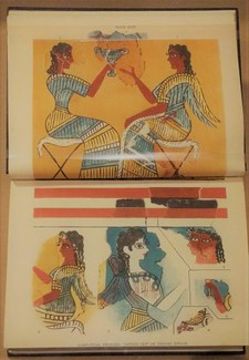"Library Exhibition on ""Restoring the Minoans: Elizabeth Price and Sir Arthur Evans"""