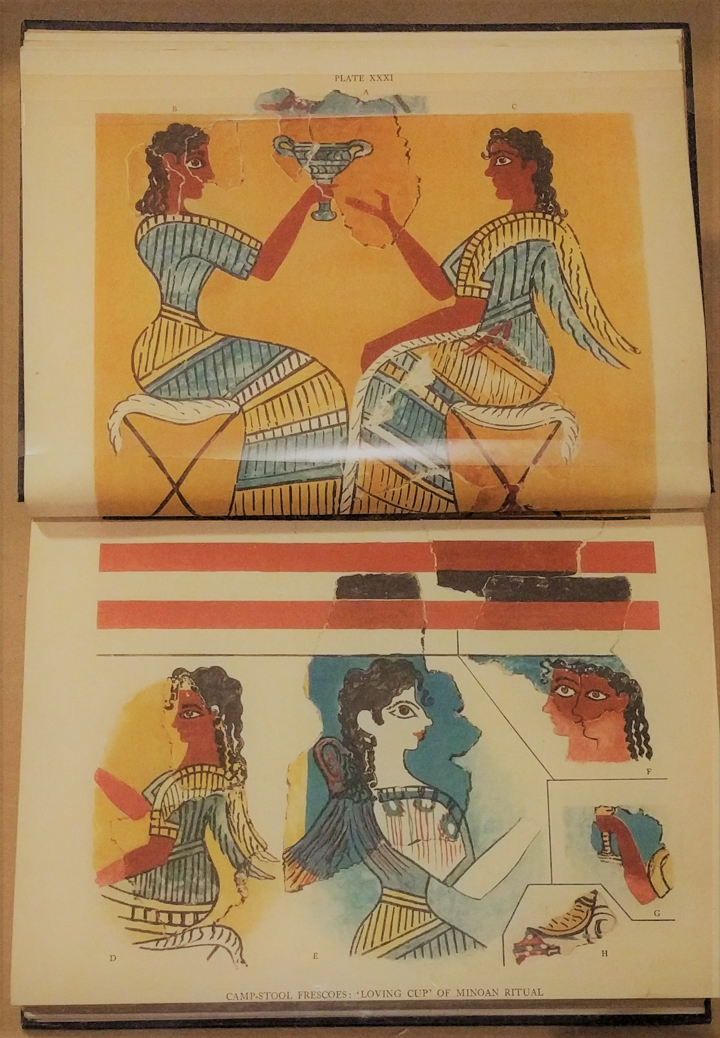 """Library Exhibition on """"Restoring the Minoans: Elizabeth Price and Sir Arthur Evans"""""""