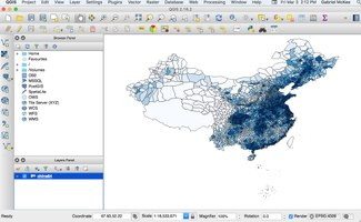 Introduction to QGIS Workshop — Institute for the Study of