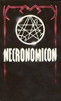 The 1980 Avon paperback edition of the Simon Necronomicon.