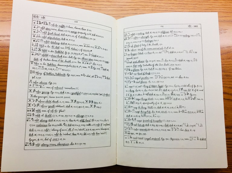 'Ruffle (?)' and other entries in Faulkner's Concise Dictionary