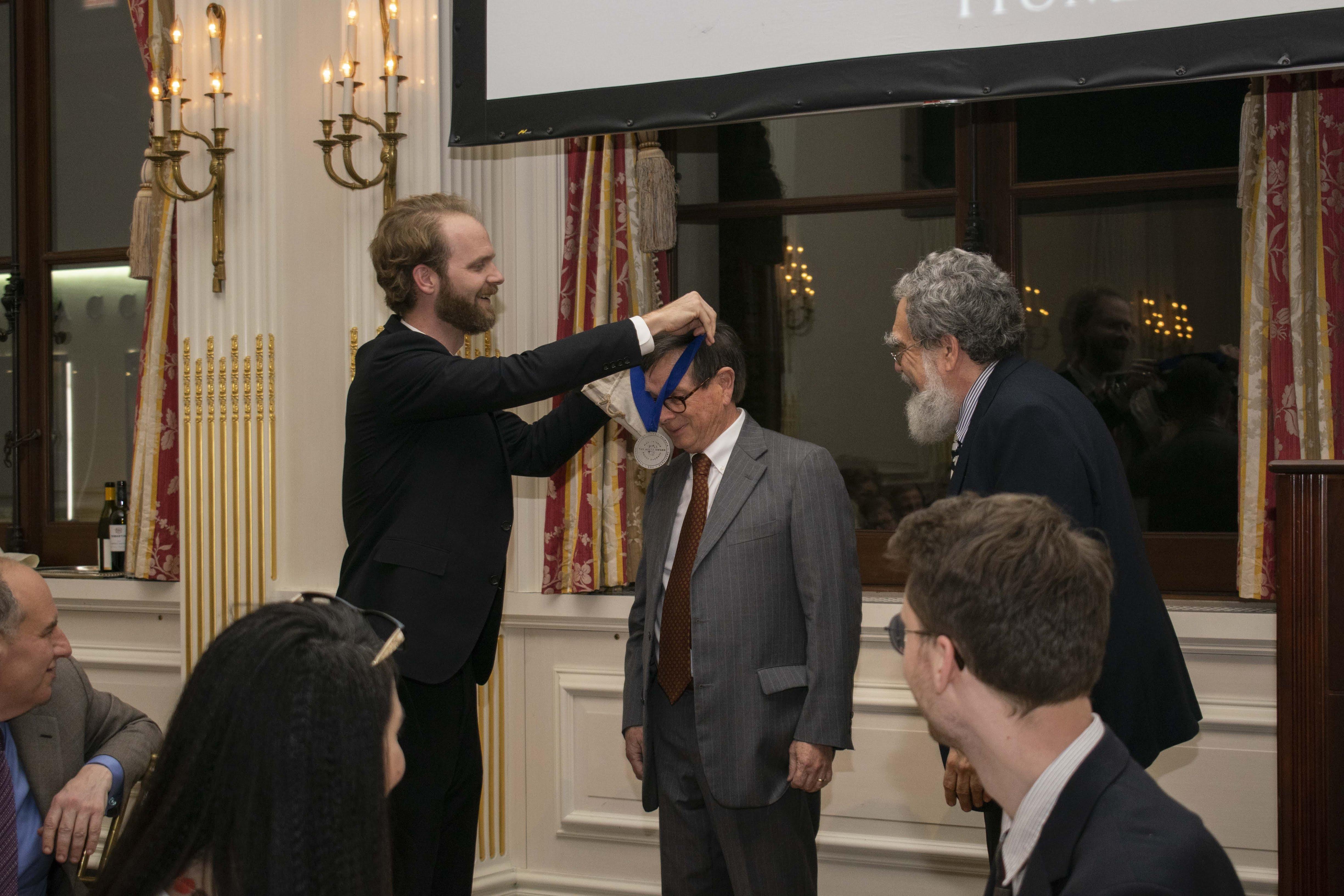 Bagnall Receives the Paideia Institute's Arete Award