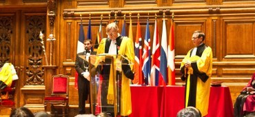 Director Emeritus Roger Bagnall Receives an Honorary Doctorate from the Université Paris - Sorbonne