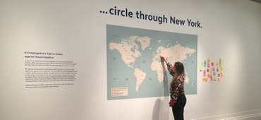 """. . . circle through New York"" Continues. ISAW and St. Philip's Church Invite You in a Call to Action!"