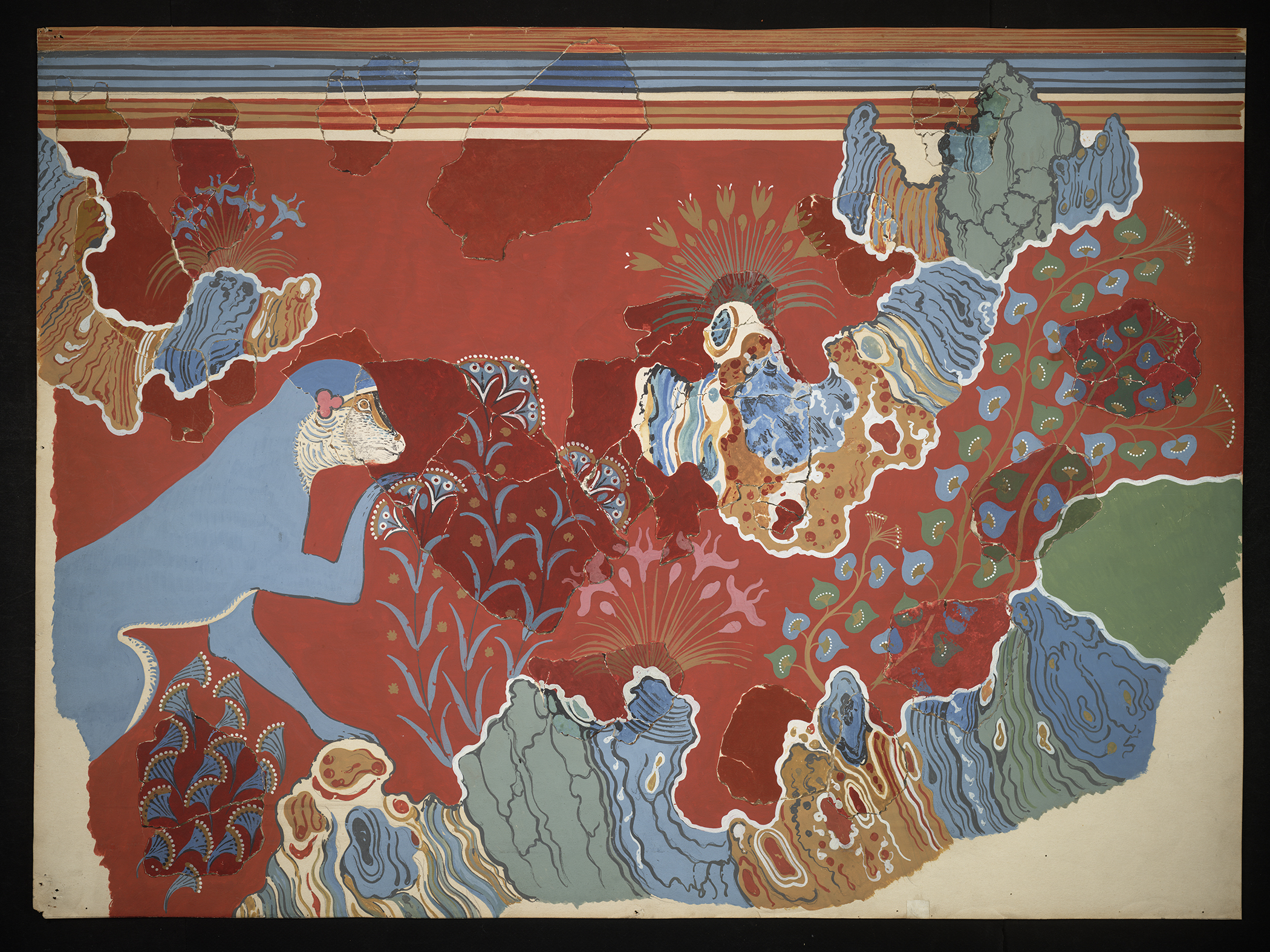 "Exhibition Now Open: ""Restoring the Minoans: Elizabeth Price and Sir Arthur Evans"""