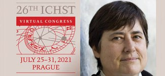 International Congress of History of Science and Technology in Prague Banner with Christine Proust's Image