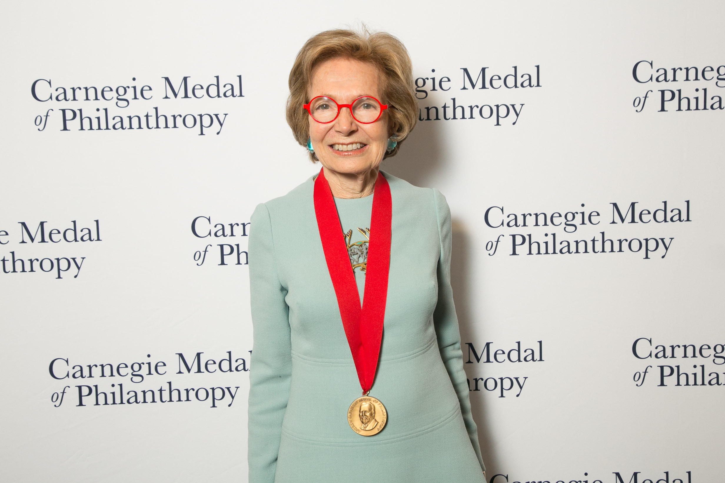 Founder Shelby White Received the Carnegie Medal of Philanthropy