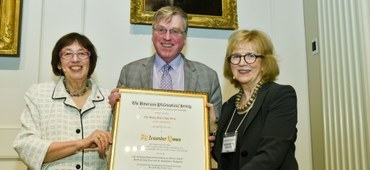 ISAW Director Alexander Jones Receives 2019 Henry Allen Moe Prize in the Humanities