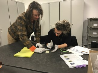 """ISAW Exhibitions Team Researches Upcoming Exhibition, """"Restoring the Minoans: Sir Arthur Evans and Elizabeth Price"""""""