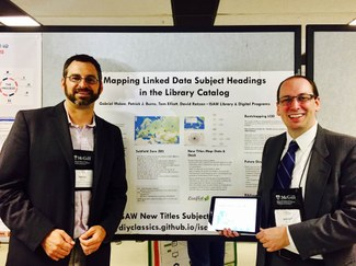 ISAW Library Participates in the Annual Conference of the Alliance of Digital Humanities Organizations
