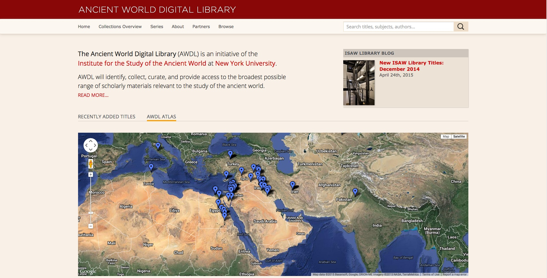 ISAW Library Relaunches Ancient World Digital Library with Redesigned Portal