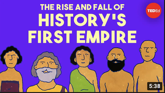"""Cover photo of Youtube video """"The rise and fall of history's first empire - Soraya Field Fiorio"""""""