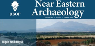 Kınık Höyük on the cover of the first issue of Near Eastern Archaeology 2020