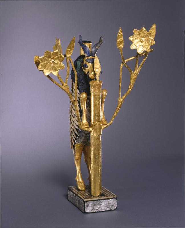 """Naomi Miller Publishes Article on New Interpretation of the so-called """"Ram Caught in a Thicket"""" Statuettes from the Death Pit at Ur, Iraq"""