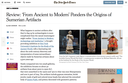 New York Times reviews new ISAW exhibition