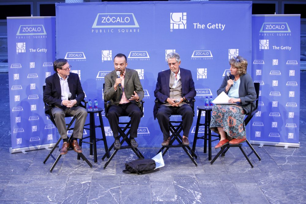 """Roger Bagnall Participates in an """"Open Art"""" Event Panel at the Getty Villa"""