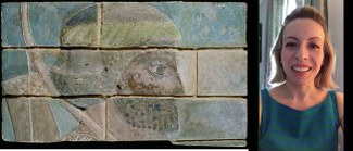 screenshot image of Anastasia's discussion on brick relief