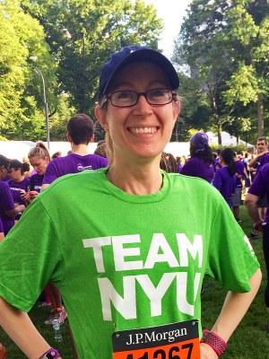 Kristen Soule Represents ISAW in Race