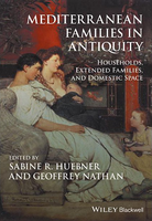 Title, authoriship and publication information appears in white type over a photograph of a modern painting depicting ancient domestic life. A man in a toga sits next to a woman on a couch. The woman is breast-feeding a baby in her arms and an older child sits on the floor facing them. The background evokes colorful wall paintings such as those found at Pompeii in Italy.