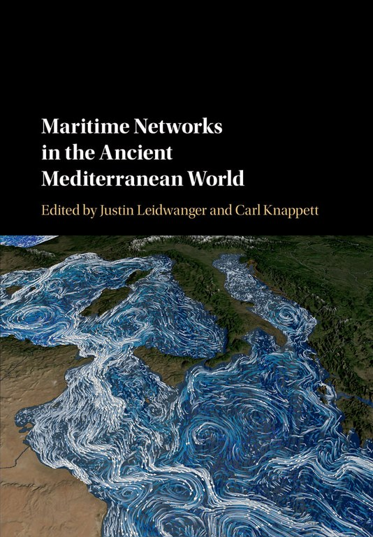 Cover of the book, which displays the title and editors' names. It also includes a representation of a portion of the earth, showing both landscape with elevation and water. Lines with arrows show the direction of motion of currents in the water.