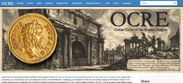 Online Coins of the Roman Empire (OCRE)