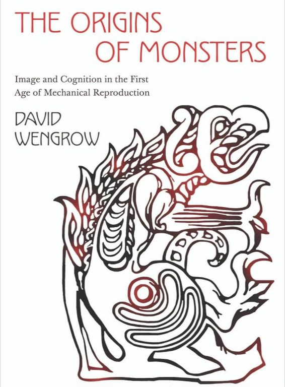 Cover of the book, which displays the title and author's name. It includes a line drawing of a stylistic monster.