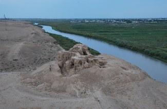 Ganchtepa. View from Power phylon